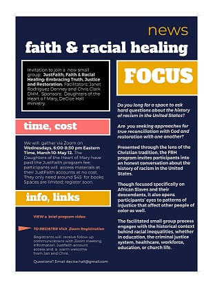 Register for Faith and Racial Healing